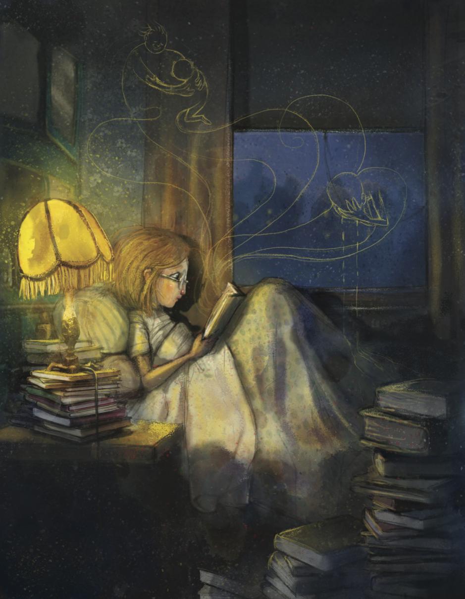 Flickan som ville rädda böckerna